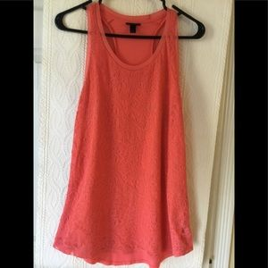 Mossimo coral tank top.